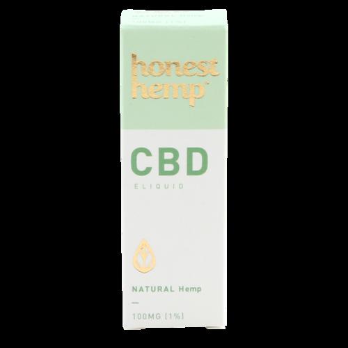 Natural - Honest Hemp (CBD e-liquid)