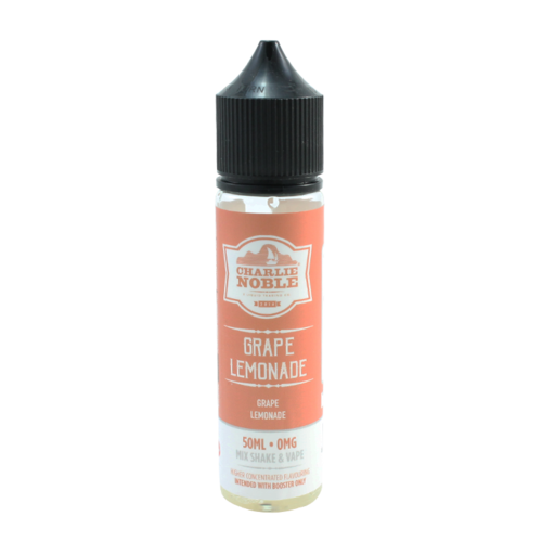 Grape Lemonade - Charlie Noble (Shortfill) (Shake & Vape 50ml)