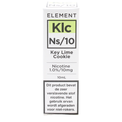 Key Lime Cookie (Nic Salt) - Element e-Liquids