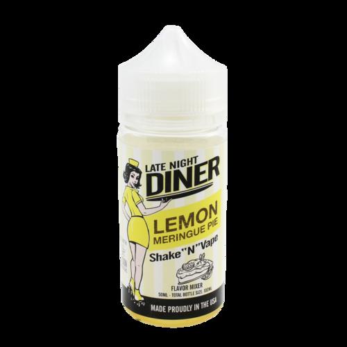 Lemon Meringue Pie - Late Night Diner (Shortfill) (Shake & Vape 50ml)