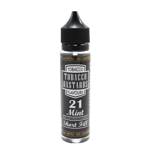 NO. 21 Mint - Tobacco Bastards (Shortfill) (Shake & Vape 50ml)