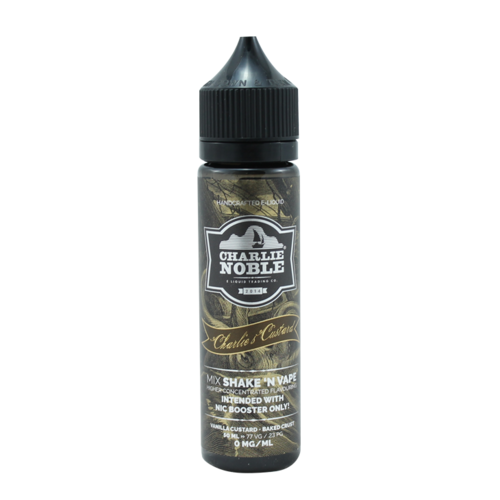 Charlie's Custard - Charlie Noble (Shortfill) (Shake & Vape 50ml)