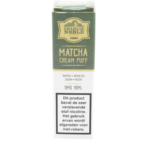 Matcha Cream Puff - Charlie Noble