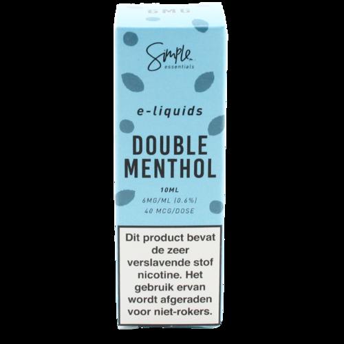 Double Menthol - Simple Essentials