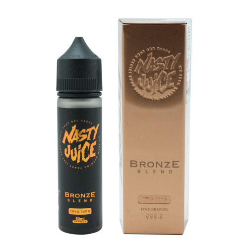 Nasty Bronze Blend - Tobacco (Shortfill) (Shake & Vape 50ml)