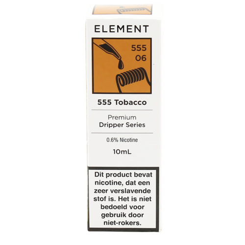 555 Tobacco - Element e-Liquids DRIPPER Series