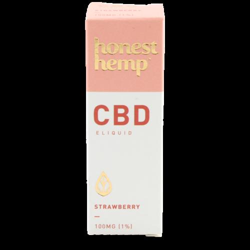 Strawberry - Honest Hemp (CBD e-liquid)