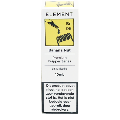 Banana Nut - Element e-Liquids DRIPPER Series