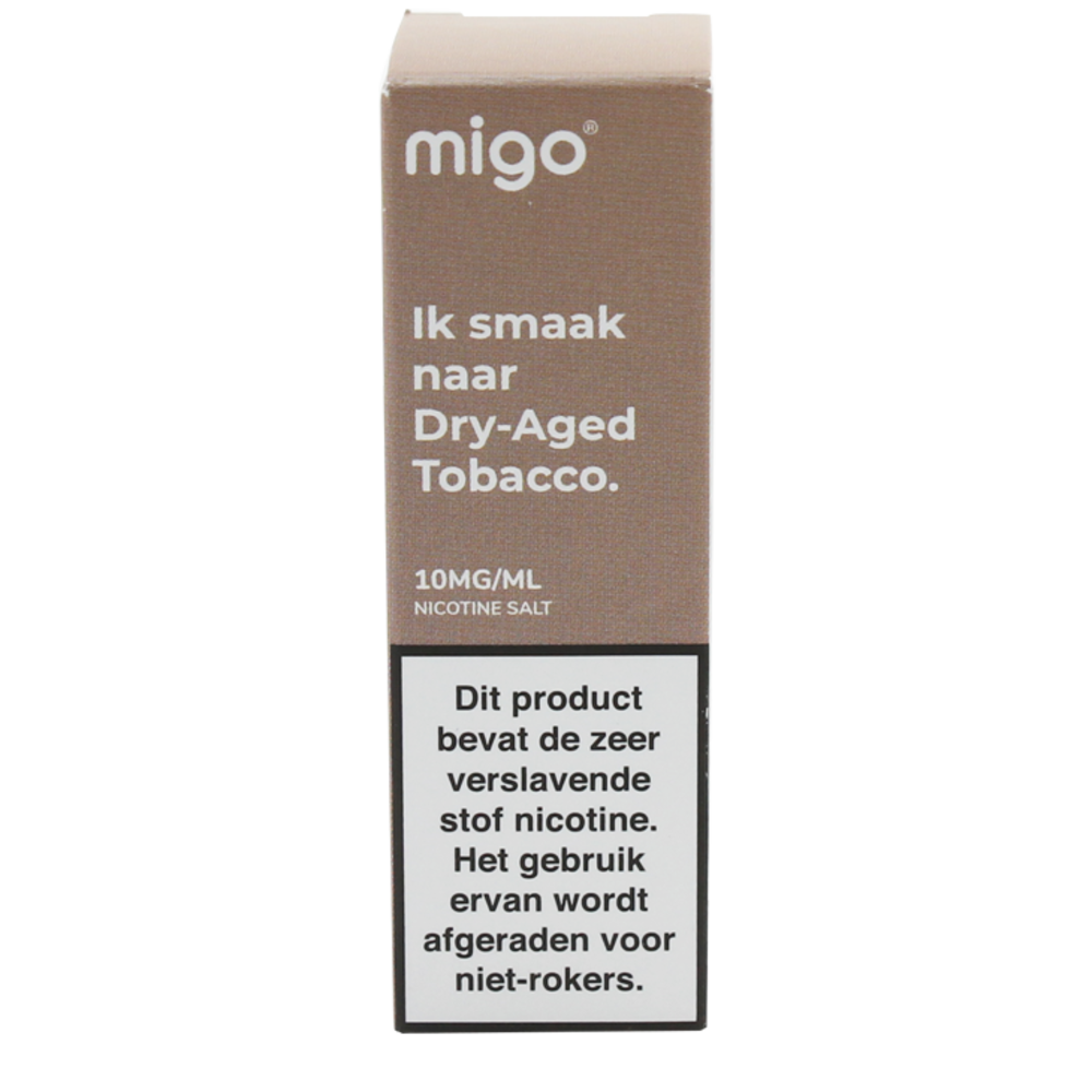 Dry Aged Tobacco (Nic Salt) - Migo