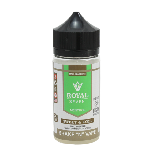 Sweet & Cool - Royal Seven (Shortfill) (Shake & Vape 50ml)