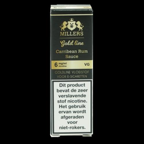 Caribbean Rum Sauce 100%VG - Millers Juice