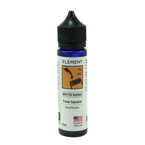 Fresh Squeeze - Element e-Liquids DRIPPER Series (Shortfill) (Shake & Vape 50ml)