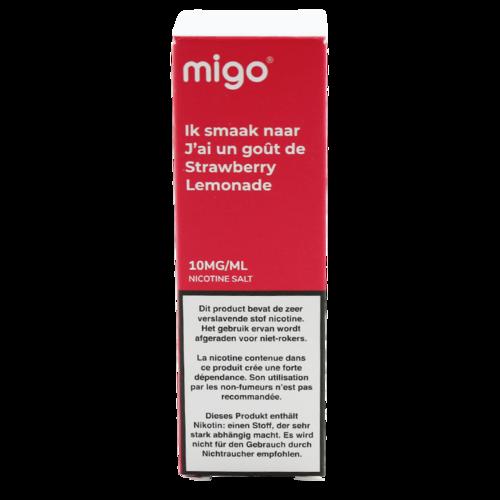 Strawberry Lemonade (Nic Salt) - Migo