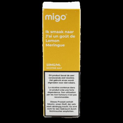 Lemon Meringue (Nic Salt) - Migo